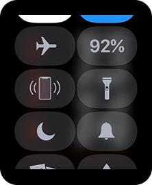 Apple Watchのフラッシュライト