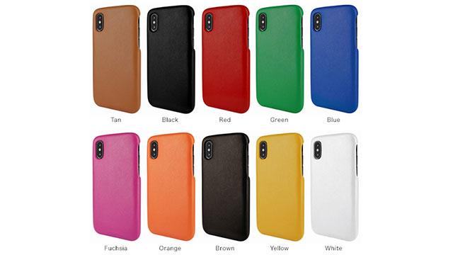 Piel Frama FramaGrip レザーカバー for iPhone X