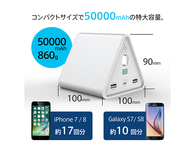 cheero Power Mountain 50000mAh