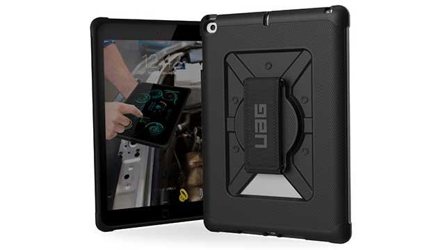 UAG iPad (第5世代)用 Metropolisハンドストラップ付ケース
