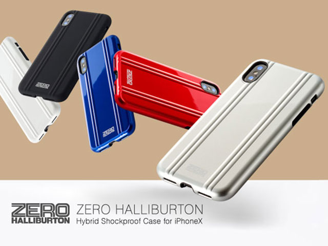 ZERO HALLIBURTON Shockproof case for iPhone X