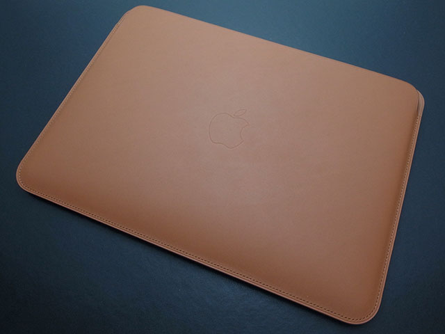 Apple 12インチMacBook用レザースリーブ