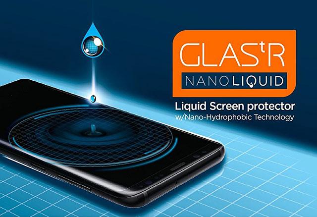 Spigen Glas.tR ナノリキッド