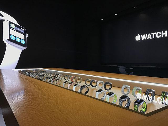 Apple Watch at Isetan Shinjuku