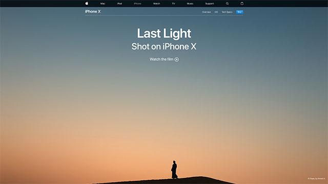 Last Light – Shot on iPhone X