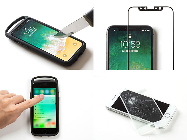 GRAVITY Tempered Glass Film for iPhone
