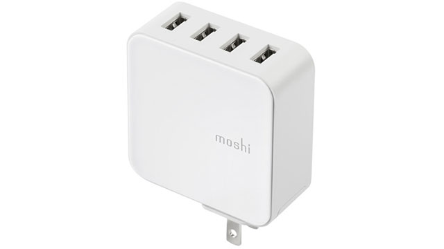 moshi ProGeo 4Port USB Wall Charger (35W)