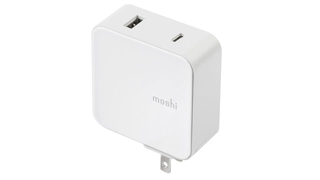 moshi ProGeo USB-C Wall Charger with USB Port (42W)
