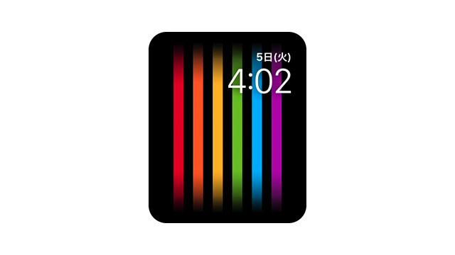 Apple Watch プライド文字盤