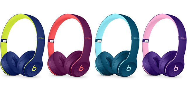 Beats Solo3 Wirelessオンイヤーヘッドフォン – Beats Pop Collection