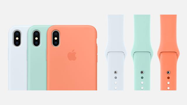 iPhoneシリコーンケース・Apple Watchスポーツバンド