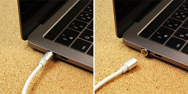 Type-C to Type-C マグネット充電ケーブル for MacBook Pro (60W)
