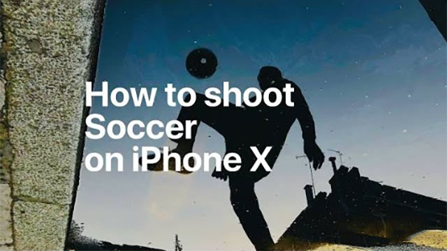 How to shoot Soccer on iPhone X