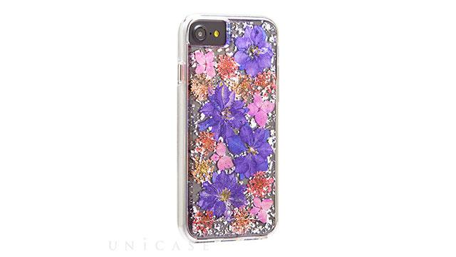 【iPhone 8/7/6s/6 ケース】Karat Petals Case (Purple)