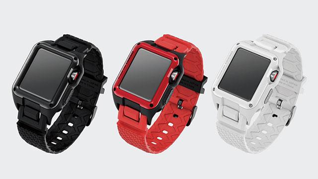 Apple Watch用ZEROSHOCKバンド/ケース
