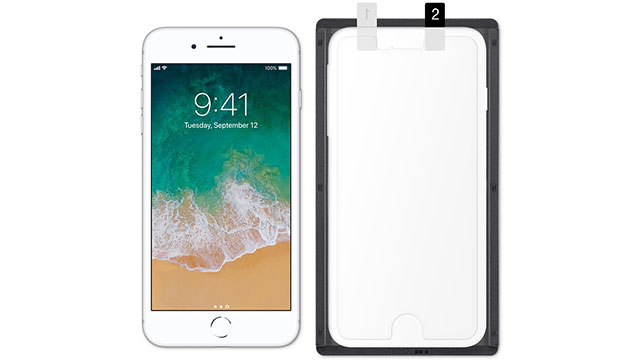 Tech21 Impact Shield Anti-Glare with Precise-Align Applicator for iPhone