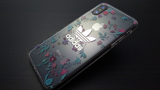 adidas Originals Clear Case Graphic AOP iPhone X Colorful