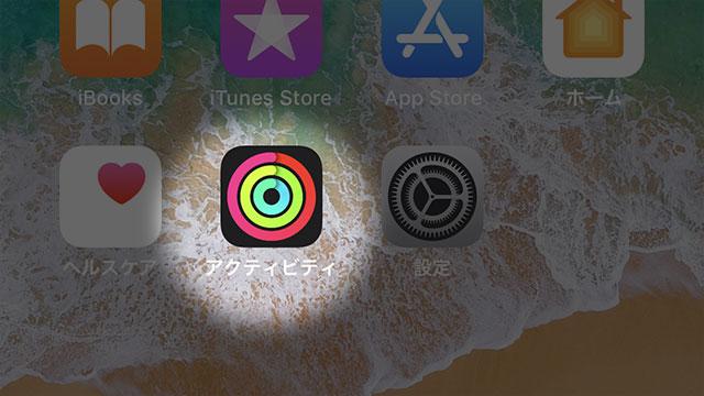 Apple Watchアクティビティ