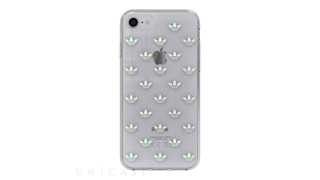 【iPhone8/7/6s/6 ケース】Clear Case (Trefoils colorful logo)