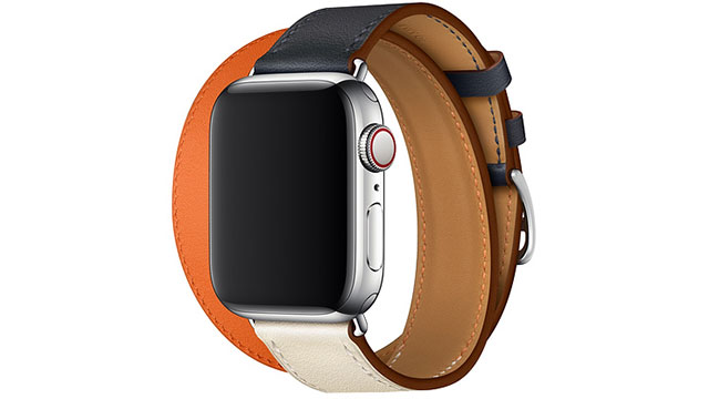 Apple Watch Hermès - 40mmケース用ドゥブルトゥールレザーストラップ