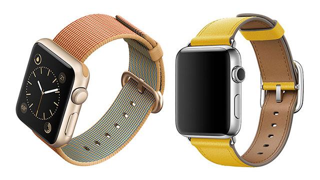 Apple Watchウーブンナイロン・クラシックバックルバンド