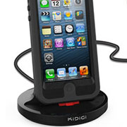 Kidigi Rugged Case Compatible クレードル for iPhone 5s/5c/5/iPod touch(5th gen.)