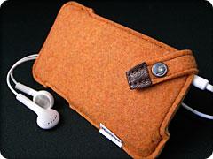 ハンドメイドフェルトケース for iPod touch