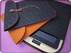 ハンドメイドフェルトケース for iPad