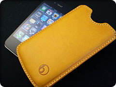 ハンドメイドレザーケース for iPhone 4 Ver.2.0