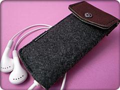 ハンドメイドフェルトケース for iPod nano(第4世代)
