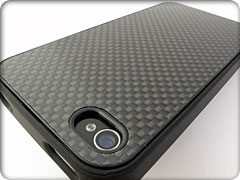 IRUAL Fake Carbon Case for iPhone 4