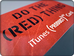 iTunes (PRODUCT) RED Card