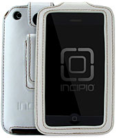 Premium Leather Fitted Case with Belt Clip for iPhone 3G