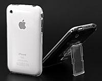 クリスタルジャケットセット for iPhone 3G