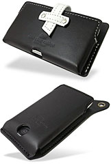 丑やiPhone 3G用レザーケース