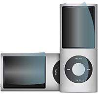クリスタルフィルムセット for iPod nano 4th