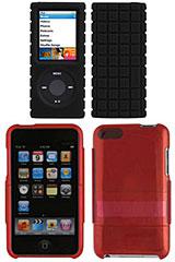 PixelSkin for iPod nano(4th gen.)/SeeThru for iPod touch(2nd gen.)