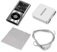 COLORSHELL for iPod nano 4G スターターセット