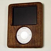 第3世代iPod nano用木製ケース アウトレット