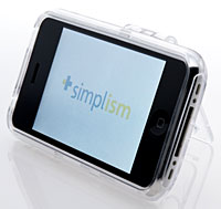 Simplism Crystal Case for iPhone 3G