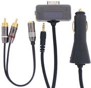Car Audio Direct Cable for iPod(BI-CAR5V/BK)