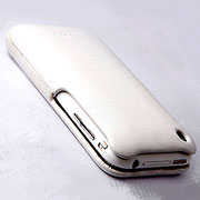 Leather Hard Cover for iPhone 3G