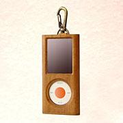 第4世代iPod nano木製ケース桜