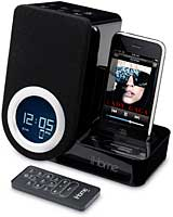 SDI iHome iP41 Rotating Alarm Clock for iPhone or iPod