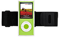 iClear w/clip stand & armband for iPod nano(4th gen.)