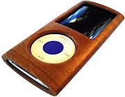 マホガニー材iPodカバー