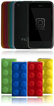 Incipio Ultra Light Feather Slim Form Fitted Case for iPhone 3G,3GS/BLOCKS dermaSHOT Case for iPod Shuffle 4Pack