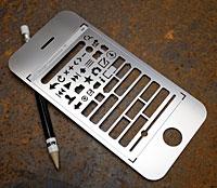 iPhone ステンシルキット