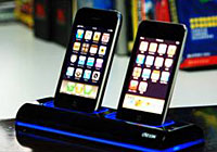 Dual Dock Charger for iPhone / iPod