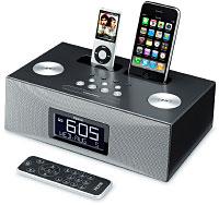 SDI iP88 Dual Dock Clock Radio